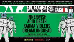 GAGARIN ANNIVERSARY SHOW: Συνέντευξη με τους InnerWish, Acid Death, Karma Violens, DreamLongDead