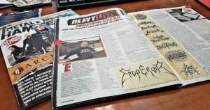METAL HAMMER ΟΚΤΩΒΡΙΟΥ – HEAVY LIVING: CHRISTOPHE SZPAJDEL – Lord of the Logos