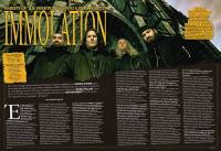 "IMMOLATION: ""Fostering the Divide"" (νέο lyric – video)"