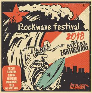 "CD METAL HAMMER - ΤΕΥΧΟΣ ΙΟΥΛΙΟΥ: ""Rockwave Festival 2018 - The Metal Earthquake"""