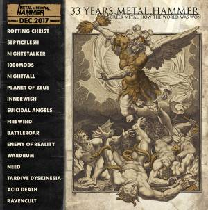 "CD METAL HAMMER - ΤΕΥΧΟΣ ΔΕΚΕΜΒΡΙΟΥ: ""Greek Metal: How the World Was Won"""