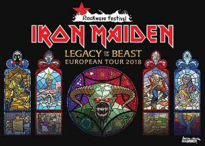 IRON MAIDEN: Δείτε το setlist του πρώτου live της περιοδείας LEGACY OF THE BEAST (video)