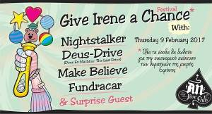 GIVE IRENE A CHANCE: NIGHTSTALKER & more @ AN Club