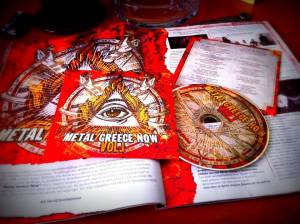 "CD ΤΕΥΧΟΥΣ ΙΟΥΛΙΟΥ ""Metal Greece Now Vol.1"": ORDER OF THE EBON HAND"