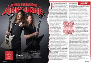 "AIRBOURNE: ""Rivalry"" (νέο video clip)"