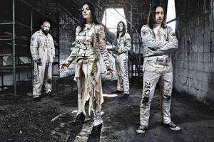 "LACUNA COIL: ""Naughty Christmas"" (νέο lyric video)"