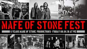MADE OF STONE FEST 2018: NAXATRAS, MARS RED SKY, PUTA VOLCANO, TUBER κ.α.