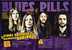 "BLUES PILLS: ""Little Boy Preacher"" (νέο lyric video)"