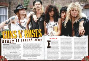 "GUNS N' ROSES: To unboxing του boxset του ""Appetite for Destruction"""