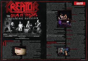 "KREATOR: ""Gods of Violence"" (video clip teaser)"