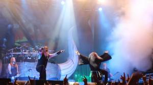 MESSIAH MARCOLIN (ex-CANDLEMASS): Στη σκηνή με τους AMON AMARTH (video)