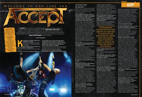 "ACCEPT: ""Fast as a Shark"" (νέο live clip)"
